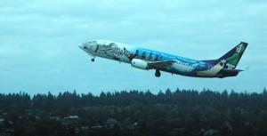 Alaska Airlines Iditarod Boeing 737