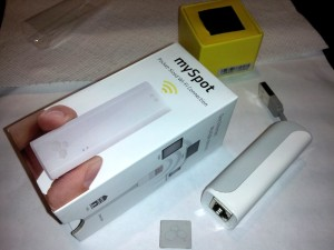 Kanex MySpot - Pocket-Sidex Access Point