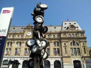 Gare de St. Lazare in Paris, France