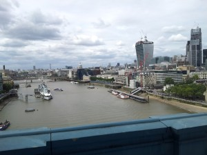 HMS Belfast Viewed from Tower Bridge